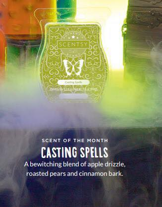 september scentsy scent casting spells 2016