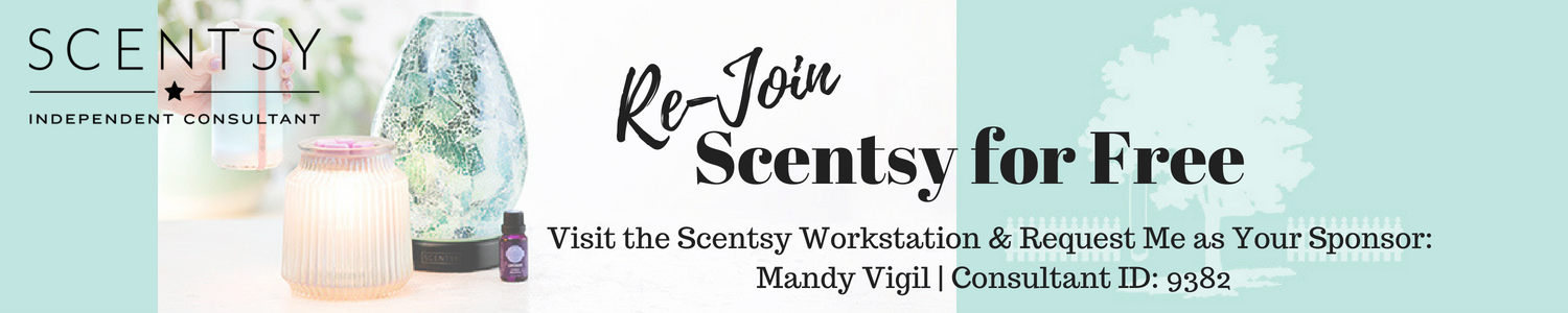 Rejoin Scentsy: Former Consultants Join for Free   Scentsy