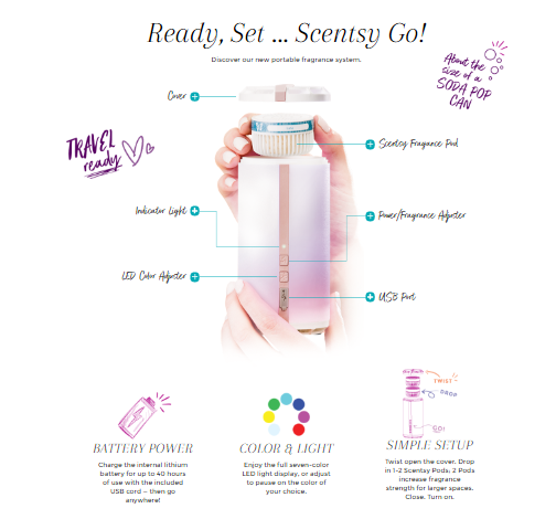 Battery Powered Scentsy Go