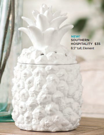 New Pineapple Scentsy Warmer Scentsy Spring Summer 2017