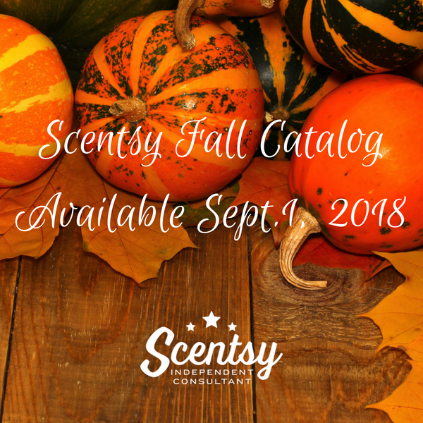 New Scentsy Fall Winter 2018-2019 Scents & Warmers