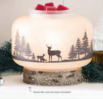 wild life scentsy warmer dec 2017