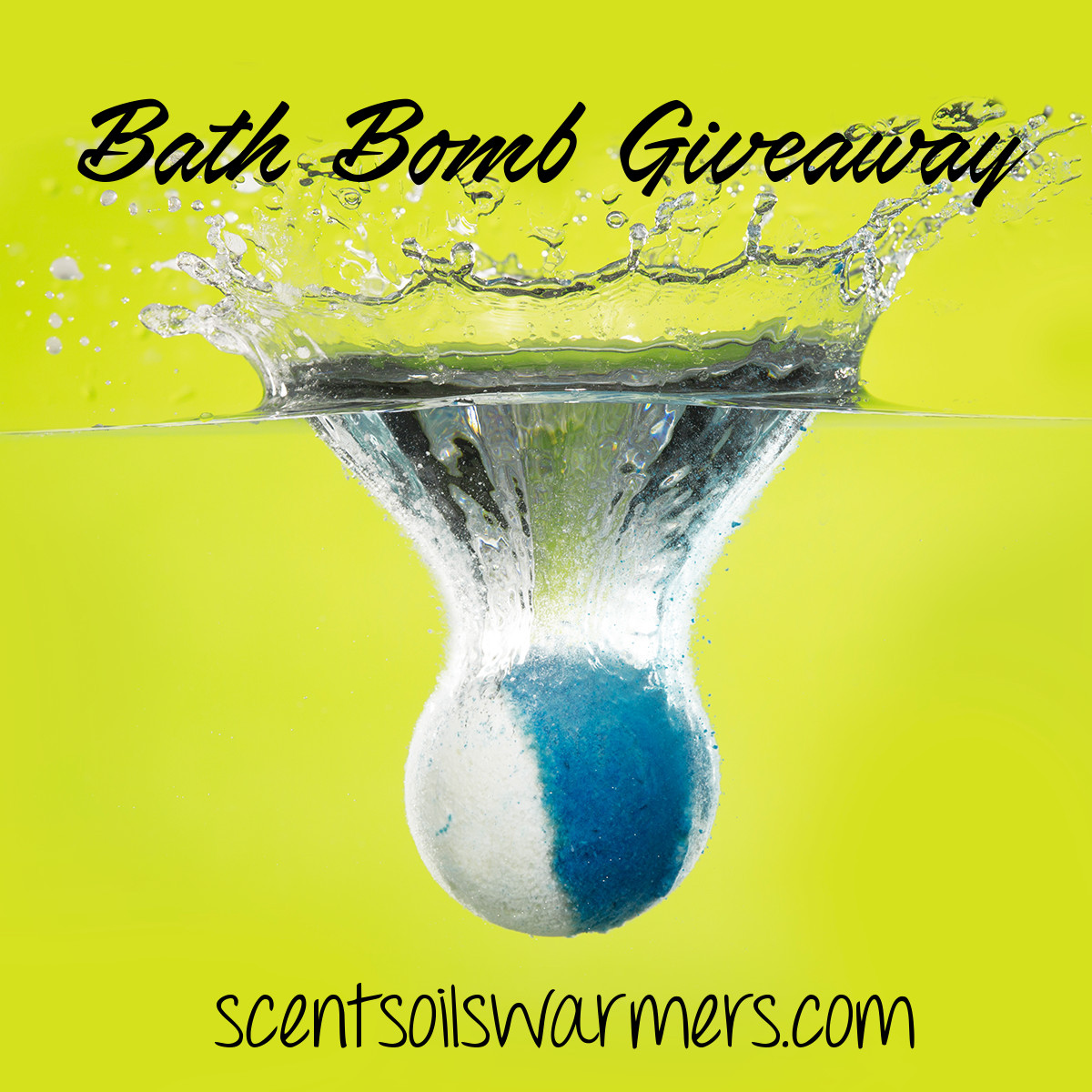 Scentsy Bath Bomb Giveaway Contest