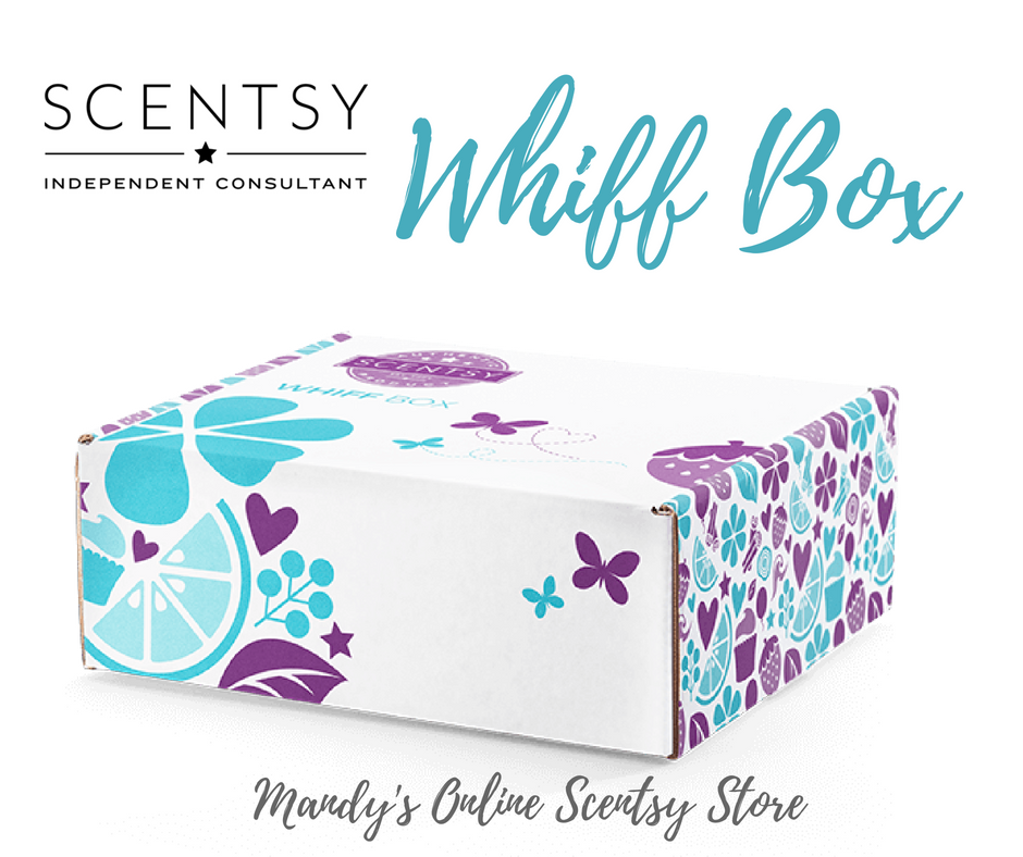New Scentsy Whiff Box Sept 2018