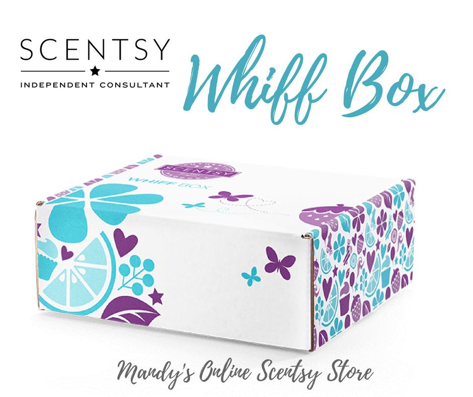 New Scentsy Whiff Box Sept 2018
