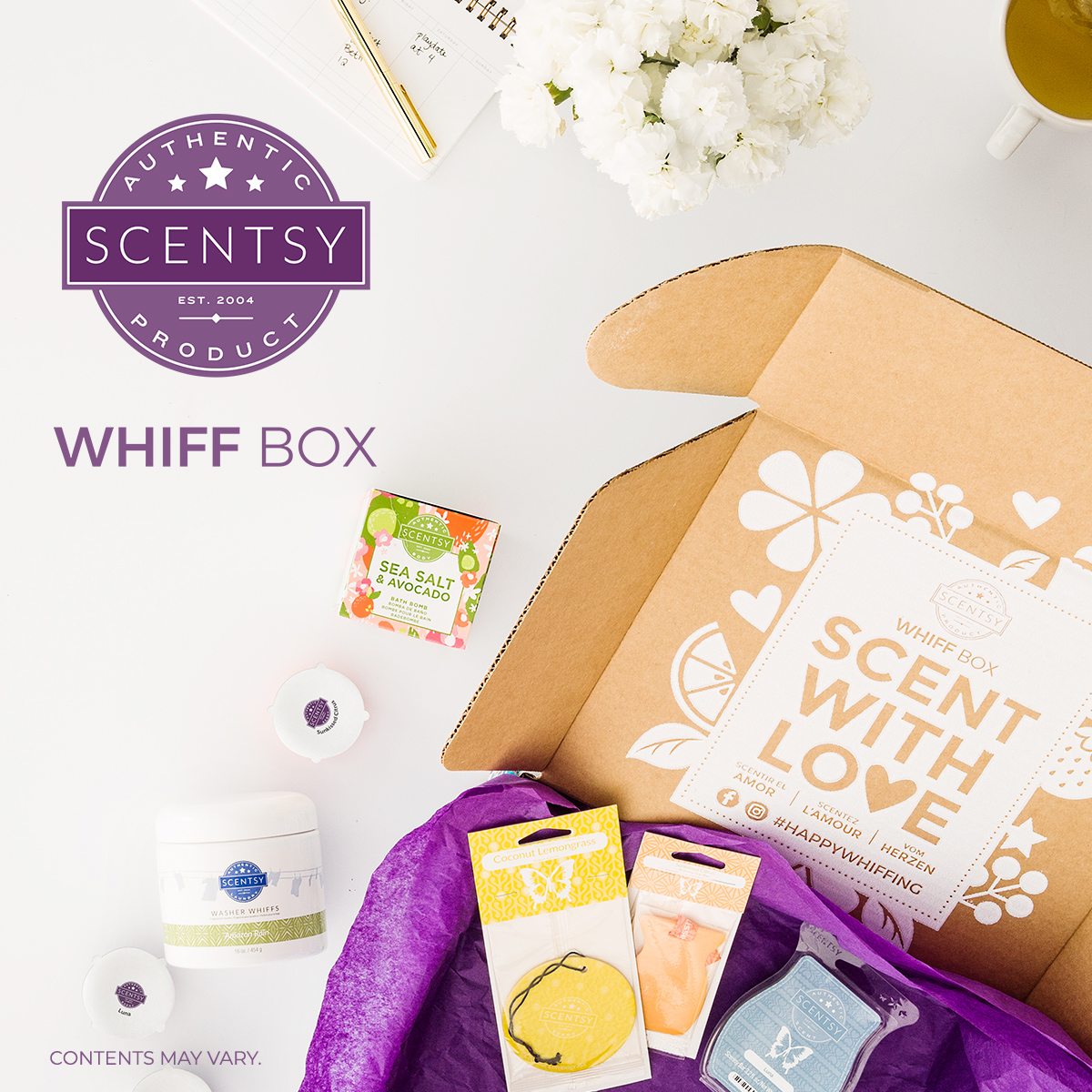 Scentsy Monthly Subscription Box Whiff Box