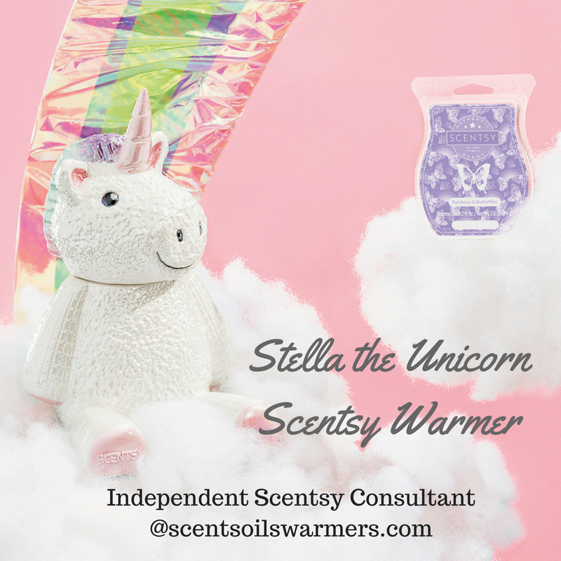 Stella Unicorn Scentsy Buddy July 2018 Pre Order