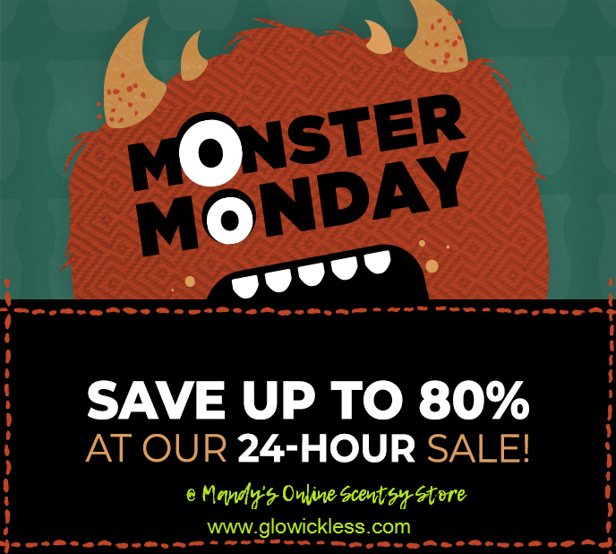 scentsy monster monday sale oct 2018