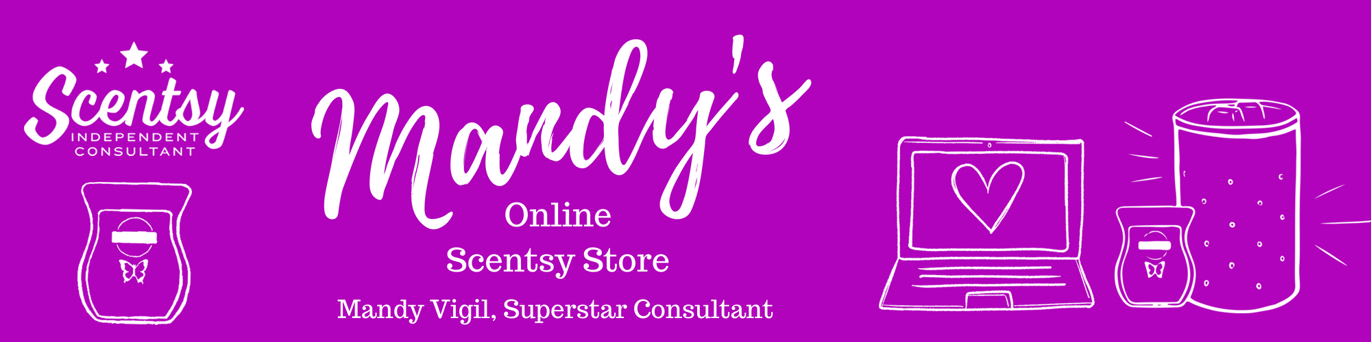 Mandy's Online Scentsy Store