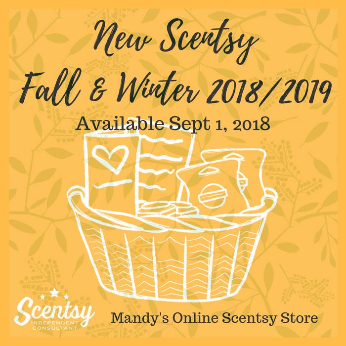 New Scentsy Fall & Winter Catalog 2018 2019