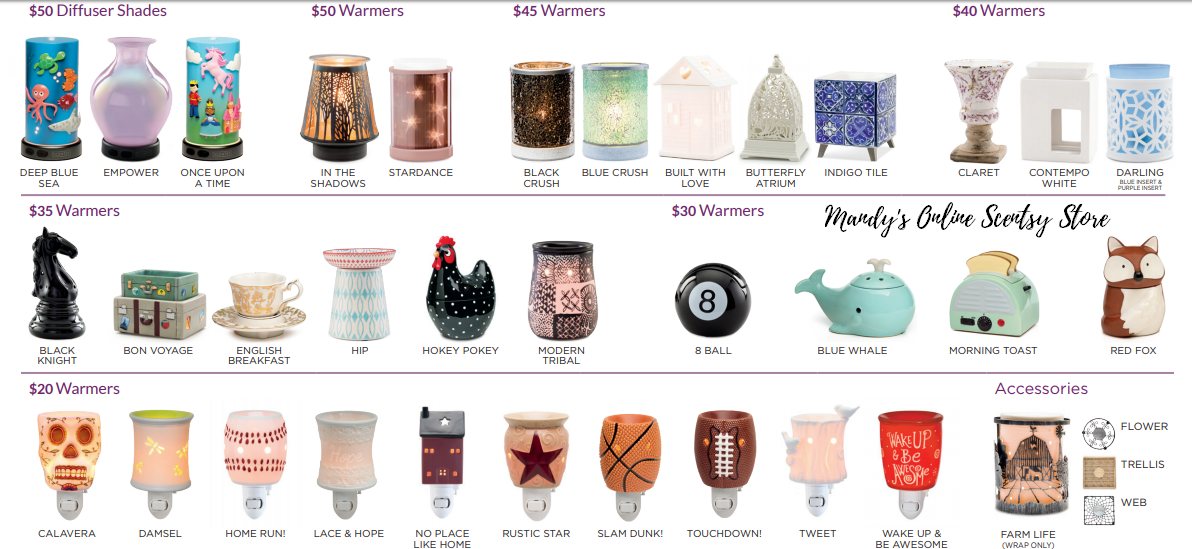 discontinued scentsy products fall 2018