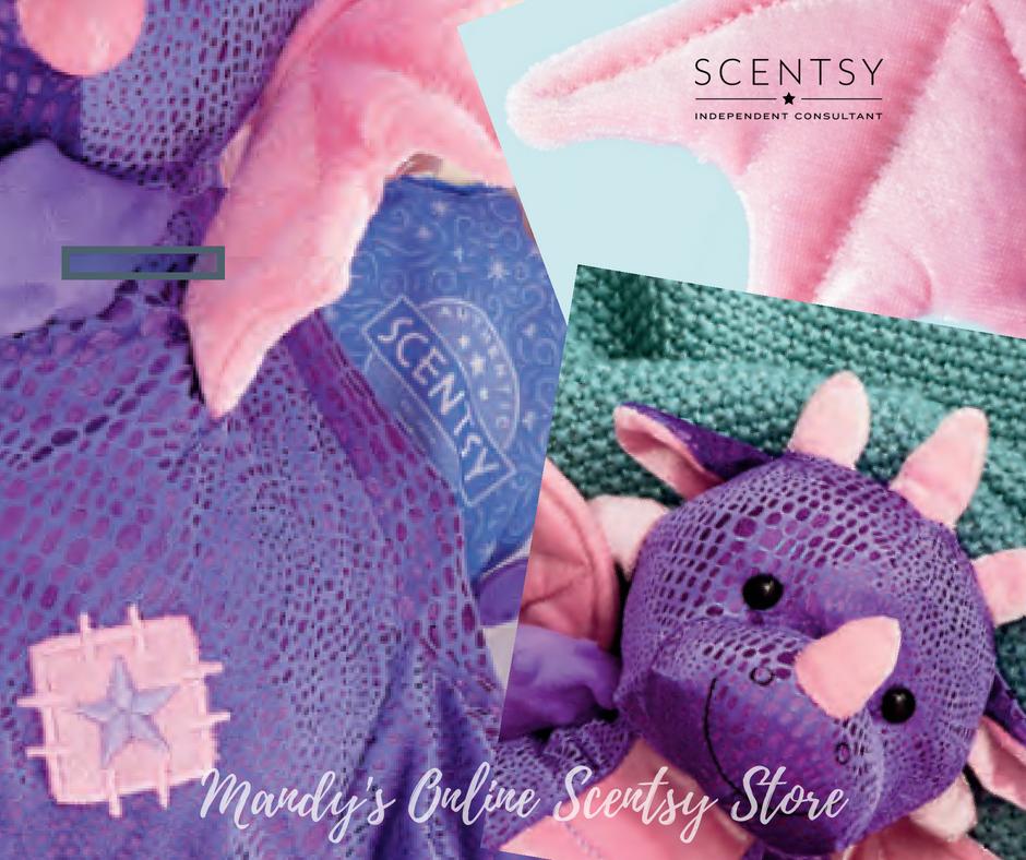 Purple Dragon Scentsy Buddy