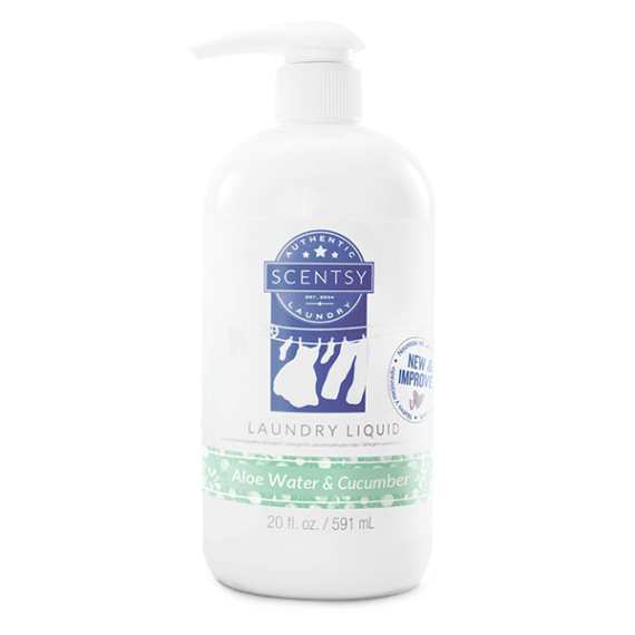 Scentsy Aloe Water & Cucumber Laundry Liquid