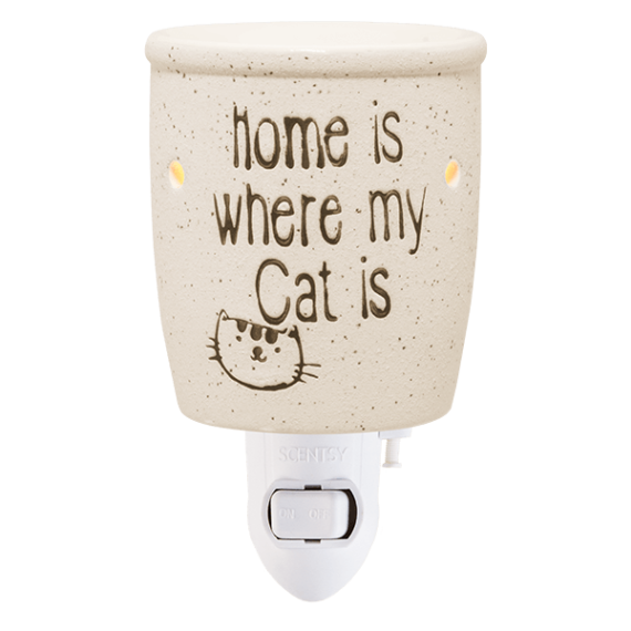 home is where my cat is scentsy warmer