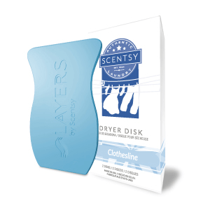 scentsy dryer disks clothesline