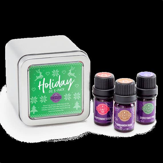 holiday scentsy oils