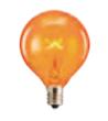 orange scentsy light bulb