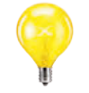 yellow scentsy light bulb